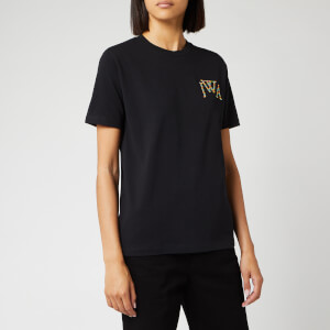 JW Anderson Women's JWA Embroidery Logo T-Shirt - Black