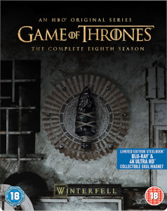 Game of Thrones Saison 8 - Steelbook 4K Ultra HD (Blu-ray inclus)