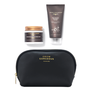 Grow Gorgeous Mini Intense Shampoo, Mask and Bag (Worth $44)