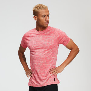 Trainings-T-Shirt - Leuchtend-rotes Mergel