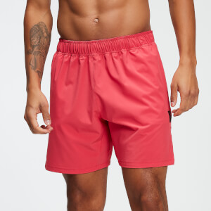 Training 7 Inch Shorts - Washed Rød