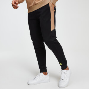 Rest Day Men's Panel Joggers - Black