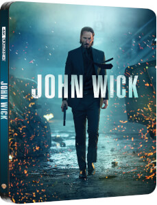 John Wick 4K Ultra HD (incluye Blu-ray 2D) - Steelbook Edición Limitada Exclusivo Zavvi