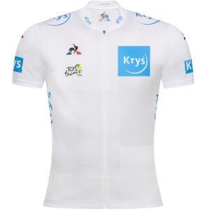 Le Coq Sportif TDF 2019 Replica Young Rider Jersey - White