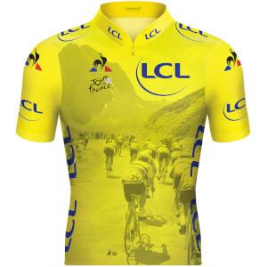 837bc1ae5 Le Coq Sportif TDF 2019 Replica Col Jersey - Yellow