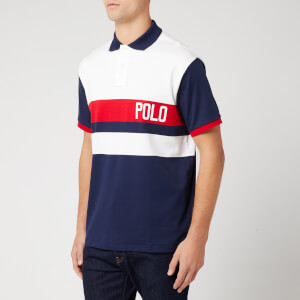 Polo Ralph Lauren Men's Short Sleeve Polo Shirt - White Multi