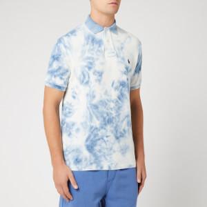 Polo Ralph Lauren Men's Tie Dye Polo Shirt - Washed Indigo