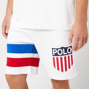 Polo Ralph Lauren Men's USA Shorts - White Multi