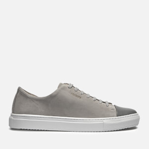 Axel Arigato Men's Cap Toe Suede Trainers - Light Grey