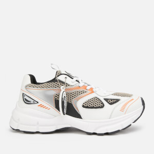 Axel Arigato Women's Marathon Running Style Trainers - White/Black/Orange