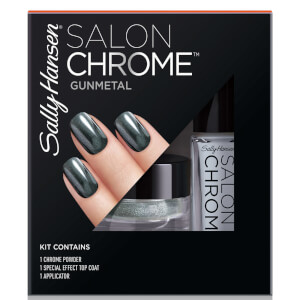 Sally Hansen Salon Chrome Kit - Gunmetal
