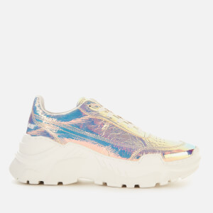 Joshua Sanders Women's Donna Classic Running Style Trainers - Light Halo