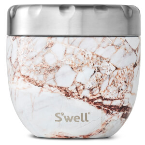 S'well Eats 2 in 1 Calcatta Gold Nesting Food Bowl 21.5oz