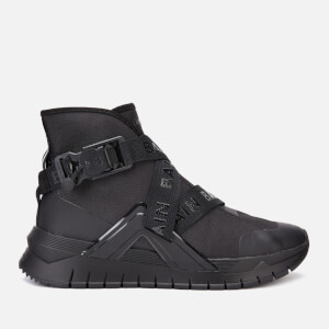 Balmain Men's B-Troop Strap Nylon Trainers - Black