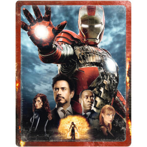 Iron Man 2 - 4K Ultra HD Zavvi UK Exclusive Steelbook