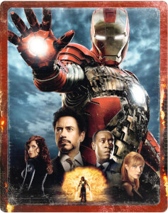 Steelbook Exclusif Zavvi: Iron Man 2 - 4K Ultra HD