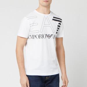 Emporio Armani EA7 Men's Large Logo T-Shirt - White