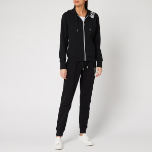 Emporio Armani EA7 Women's Hooded Tracksuit with Leggings - Black