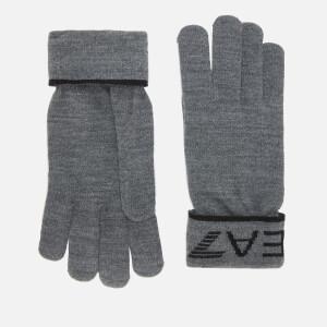 Emporio Armani EA7 Men's Branded Gloves - Grey