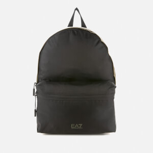 Emporio Armani EA7 Men's Backpack - Black/Khaki