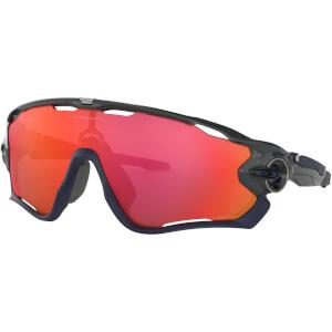 Oakley Jawbreaker Sunglasses - Carbon/Prizm Trail Torch