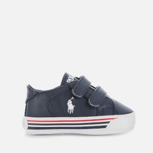 Polo Ralph Lauren Baby's Edgewood Ez Velcro Trainers - Navy/White