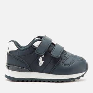 Polo Ralph Lauren Toddler's Oryion Ez Velcro Trainers - Navy/White