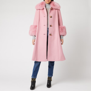 Saks Potts Women's Yvonne Coat - Rose