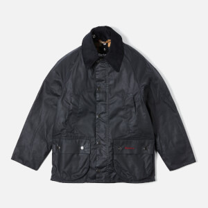 Barbour Boy's Bedale Wax Jacket - Navy