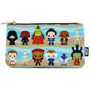 Loungefly Star Wars The Phantom Menace Chibi Characters Pouch