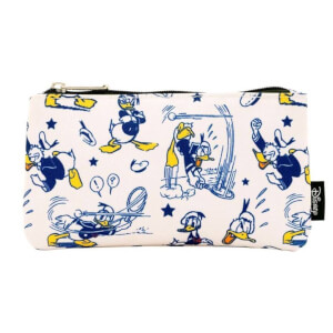Loungefly Disney Angry Donald Duck Zippered Pouch