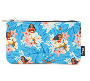 Loungefly Disney Moana Leaves Zippered Pouch