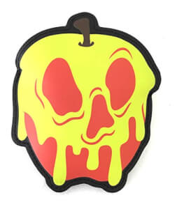 Loungefly Disney Snow White Poison Apple Coin Bag