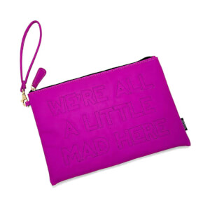 Loungefly Disney Alice in Wonderland We're All a Little Mad Here Clutch Bag