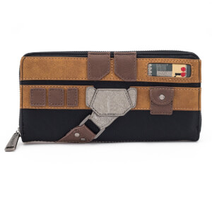 Loungefly Star Wars Han Solo Cosplay Zip Around Wallet