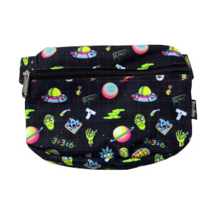 Loungefly Rick and Morty Galaxy AOP Fanny Pack