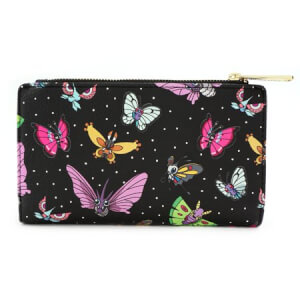 Loungefly Pokemon Butterfly Top Zip Wallet