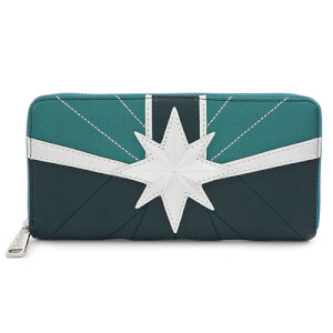 Loungefly Marvel Captain Marvel Starforce Suit Wallet