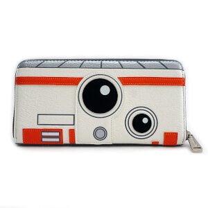 Loungefly Star Wars R2D2 BB8 Double Sided Zip Around Wallet