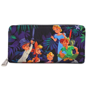 Loungefly Disney Peter Pan Zip Around Wallet