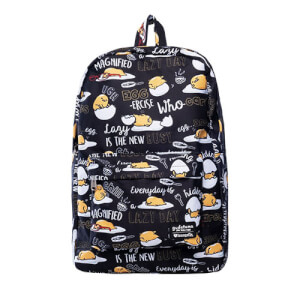 Loungefly Gudetama Black Nylon Backpack