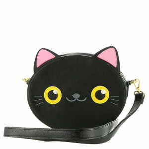 Loungefly Cat Face Crossbody Bag