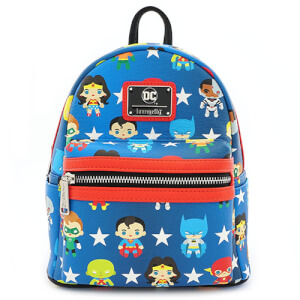 Mini Sac A Dos Loungefly Justice League Chibi