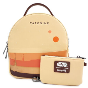 Loungefly Star Wars Tatooine Convertible Mini Backpack