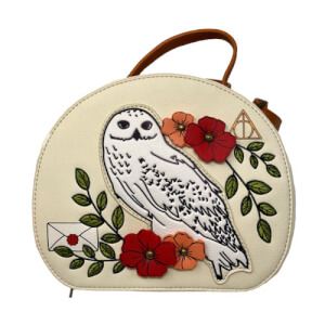 Loungefly Harry Potter Hedwig Floral Crossbody Bag