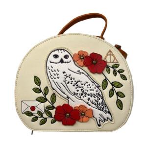 Loungefly Harry Potter Bolso Bandolera Floral Hedwig