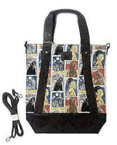 Loungefly Star Wars Cards Princess Leia Chewbacca Crossbody Tote Bag