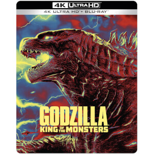 Godzilla: King of the Monsters – 4K Ultra HD Steelbook (Includes 2D Blu-ray)