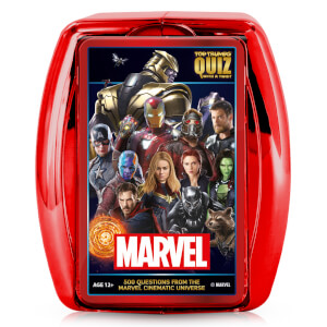 Top Trumps Quiz Game - Marvel Cinematic Universe Edition