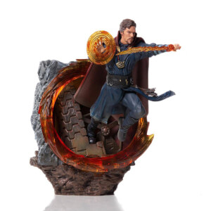 Statuetta di Doctor Strange, scala 1:10, da Avengers: Endgame, BDS Art, Iron Studios - 22 cm